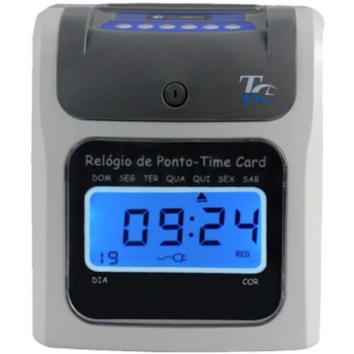 Relógio de Ponto Cartográfico RWTech Time Card - Acompanha 50 Cartões  - Automasite