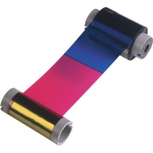 Ribbon Colorido Zebra YMCKO ZXP Série 1  - Automasite