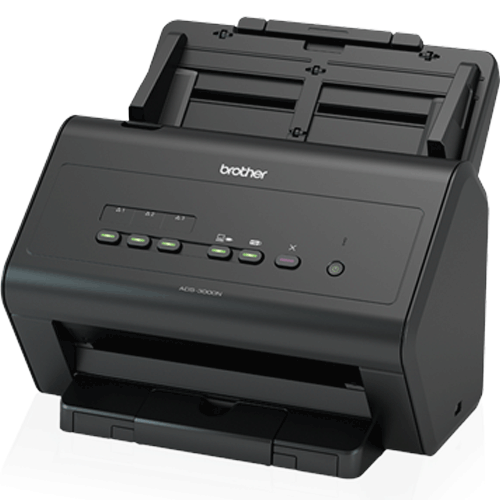 Scanner Brother ADS-300N Ethernet / USB  - Automasite