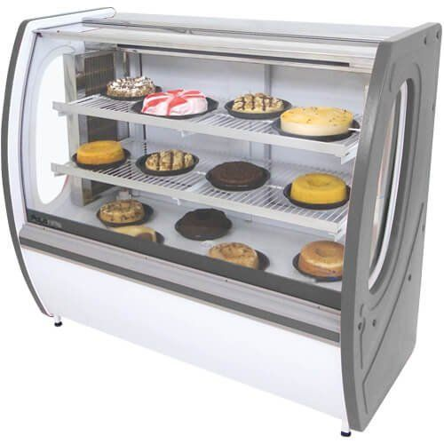 Vitrine Refrigerada Premium 1,25m Vidro Semi Curvo - Polofrio  - Automasite