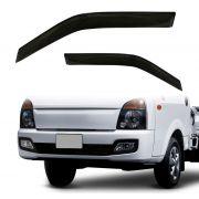 Calha de Chuva - Hyundai HR - Preto / Fumê - 2 Portas - 05 06 07 08 09 10 11 12 13 14 - Marca Ibrasa