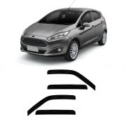 Calha New Fiesta Hatch 4 Portas Preto Sem Transparência  11 12 13 14 15 Marca Ibrasa