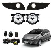 Farol de Milha – New Fiesta Hatch e Fiesta Sedan – Modelo Original – 2013 14 15 16 2017 - Marca Inovway