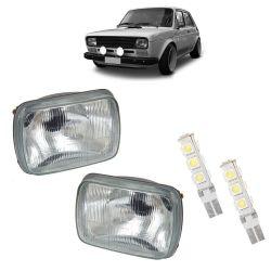 PAR FAR FIAT 147 + PAR T10 13 LEDS