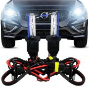 KIT LÂMPADA XENON H27 6.000K AUTOMOTIVA