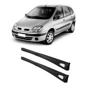 Kit Spoiler Lateral Civic, Scenic, Peugeot 307, Tempra e Logan 4 portas – Preto com Tela air point – 91 92 93 94 95 96 97 98 99 00 01 02 03 04 05 06 07 08 09 10 11 12 13 14 15 16 17 18 - Marca Inovway