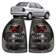 Lanterna Traseira Corsa Sedan Classic 00 01 02 03 04 05 06 07 08 09 10 Fumê