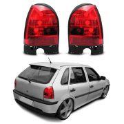 Lanterna Esportiva Red – Gol G3 – Modelo Esportivo / Tuning - 00 01 02 03 04 05  - Marca Inovox