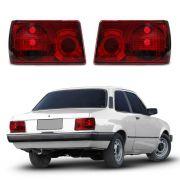 Lanterna RED Chevette 83 84 85 86 87 88 89 90 91 92 Modelo Esportivo Com Efeito Neon Marca Inovox