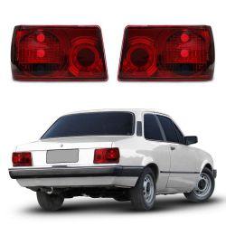 Lanterna Traseira Chevette 83 84 85 86 87 88 89 90 91 92 Modelo RED