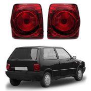 Lanterna RED Evolution 2 – Uno – Modelo Esportivo / Tuning – 84 85 86 87 88 89 90 91 92 93 94 95 96 97 98 99 00 01 02 03 04 – Marca Inovox