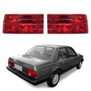 Lanterna RED - Monza - Modelo Esportivo / Tuning – 88 89 90 – Marca Inovox