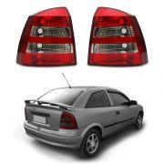 Lanterna Traseira – Astra Hatch – Modelo Original Preto / Fumê– 03 04 05 06 07 08 09 10 11 – Marca Inovox