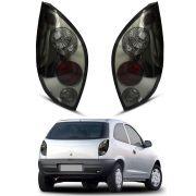 Lanterna Celta – Modelo Esportivo / Tuning - Fumê / Preta – 99 00 01 02 03 04 05 06 – Marca Inovox