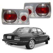 Lanterna Chevette 1983 a 1992 Cristal c/ Neon Angel Eyes