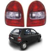 Lanterna Traseira – Corsa Hatch 2 Portas – Modelo Original – Preto / Fumê – 00 01 02 – Marca Inovox