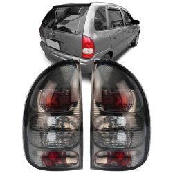 Lanterna Traseira Corsa Hatch Pick-up Wagon 96 97 98 99 00 01 02 03 Fumê