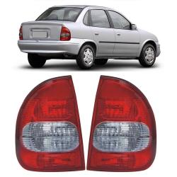 Lanterna Traseira Corsa Sedan Classic 02 03 04 05 06 07 08 09 10 Com Ré Fumê