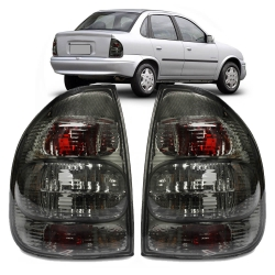 Lanterna Traseira Corsa Sedan Classic 02 03 04 05 06 07 08 09 10 Fumê