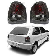 Lanterna Traseira Encaixe ARTEB – Gol Bola e Gol Special – Modelo Esportivo / Tuning – Preto / Fumê– 95 96 97 98 99 00 01 02– Marca Inovox