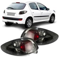 Lanterna Traseira Peugeot 206 e 206 CC 96 97 98 99 00 01 02 03 04 05 06 07 08 Fumê