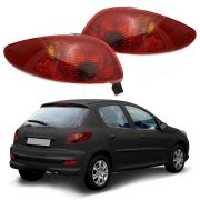 Lanterna Traseira - Peugeot 206 – Modelo Original / Rubi – 98 99 00 01 02 03 04 05 06 07 – Marca Inovox