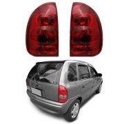 Par Lanterna Traseira Corsa Hatch Pick-up Wagon 96 97 98 99 00 01 02 03 Modelo RED
