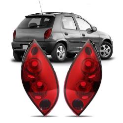 Par Lanterna Traseira Celta 99 00 01 02 03 04 05 06 Modelo RED
