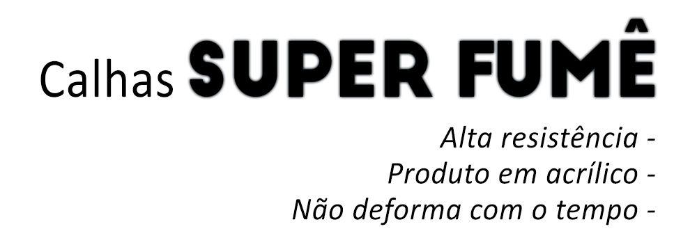 Calha Astra 2 Portas – Preto Sem Transparência –  99 00 01 02 03 04 05 06 07 08 09 10 11 – Marca Ibrasa  - Artmilhas