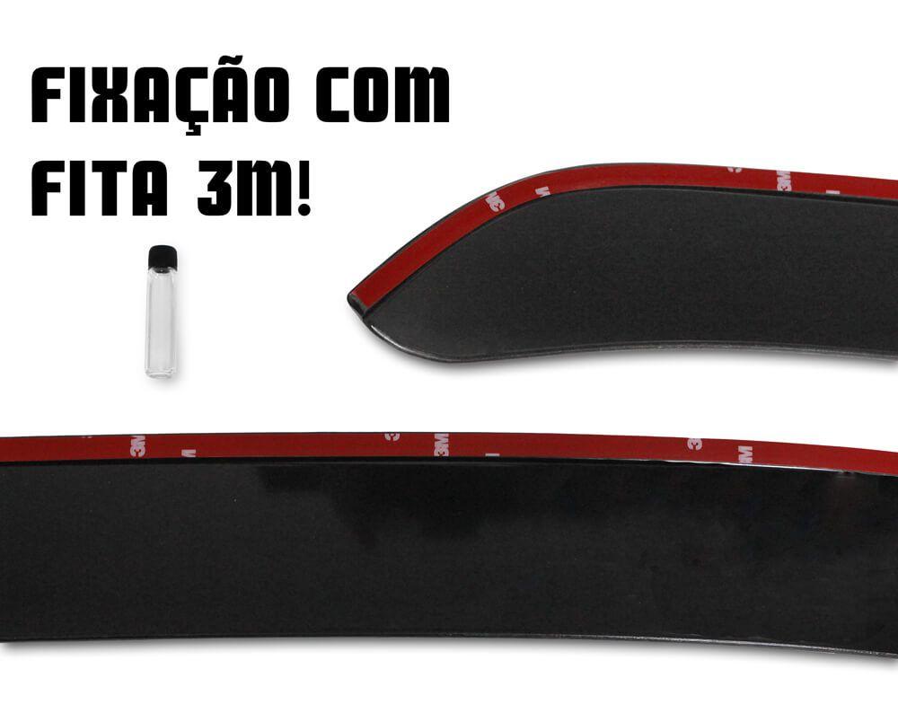 Calha de Chuva - Ecosport - Modelo Slim - 12 13 14 15 16 17 - Marca Ibrasa