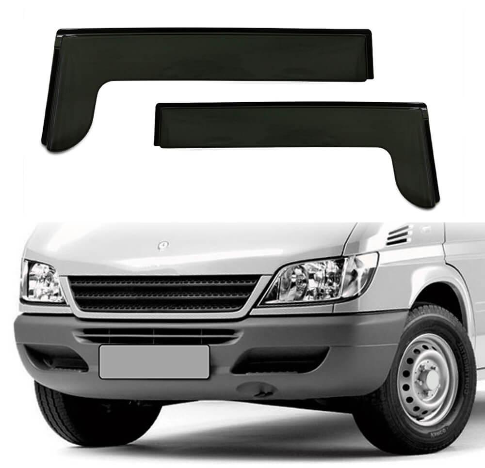 Jogo Calha Chuva Ford Transit 2010 2011 2012 2013 2p #1387