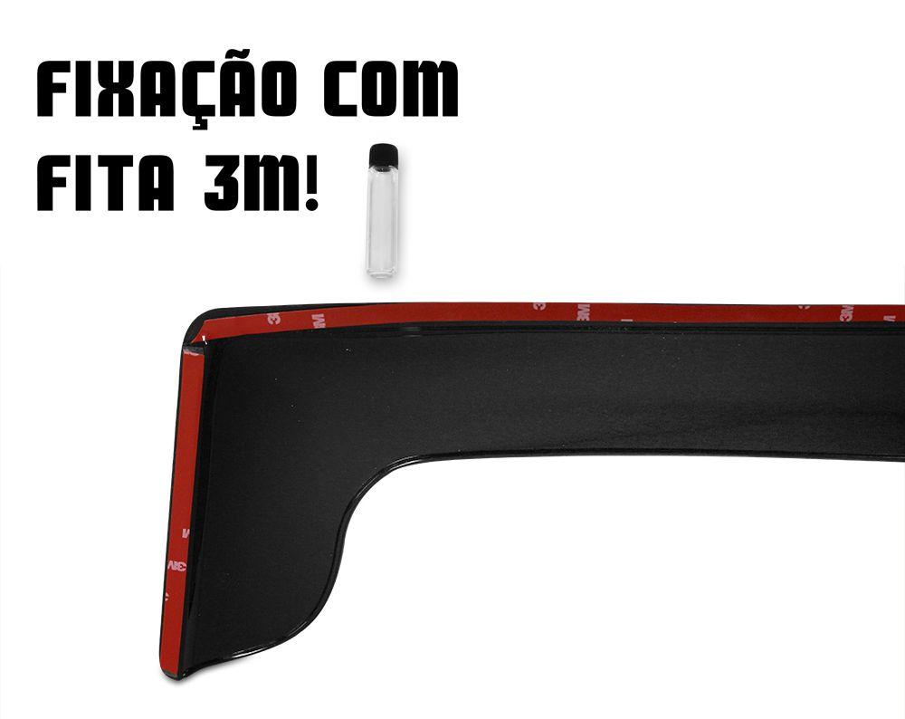 Calha de Chuva - Sprinter - Modelo Preto / Fumê - 2 Portas - 97 98 99 00 01 02 03 04 05 06 07 08 09 10 11
