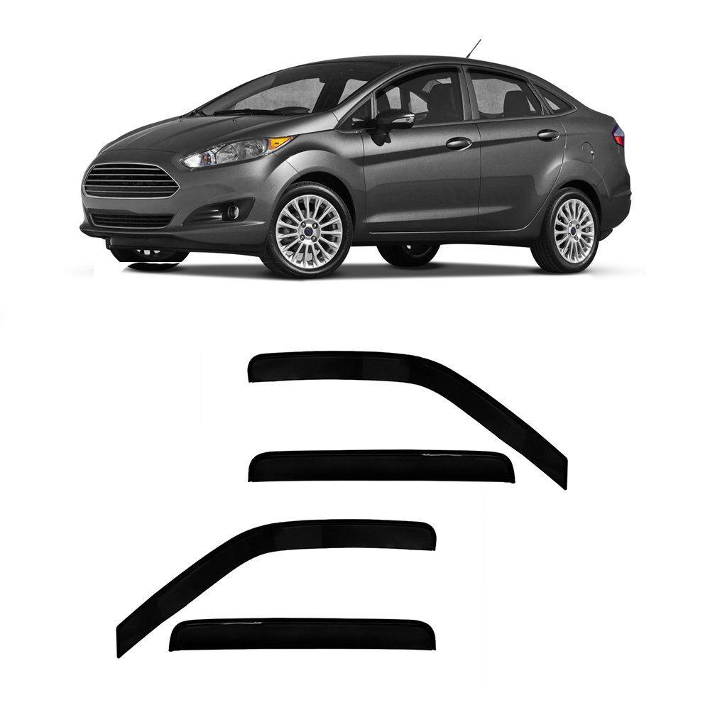 Calha de Chuva New Fiesta Sedan 11 12 13 14 15 16 17 18 19 4 portas Fumê