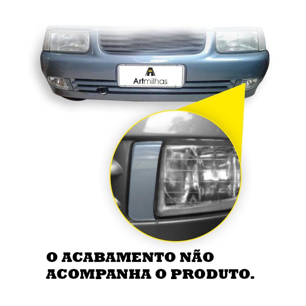 Farol de Milha com Kit Xênon 6.000K H3 – Santana e Quantum –  Modelo Original – 98 99 00 01 02 03 04 05 06 - Marca Inovway