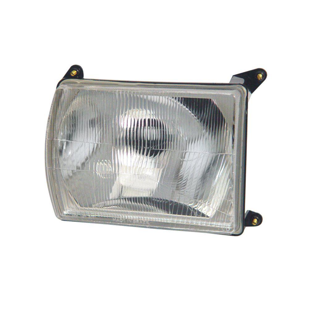 Farol Gol BX e Saveiro S de Vidro com Lâmpadas T10 13 LEDS – Modelo Original – 80 81 82 83 84 85 86 87 - Marca INOV9