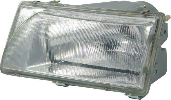 Farol modelo CIBIÉ – Ford Versailles e Ford Royale - Modelo Original – Máscara Cromada / Prata – 91 92 93 94 95 96 97 - Marca Inov9  - Artmilhas