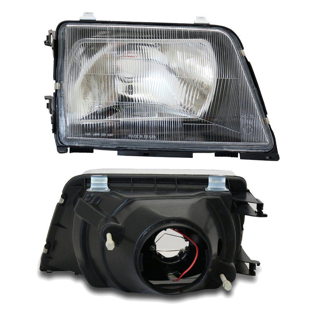 Farol Monza com Lâmpadas T10 13 LEDS – Modelo Original – 88 89 90 - Marca INOV9