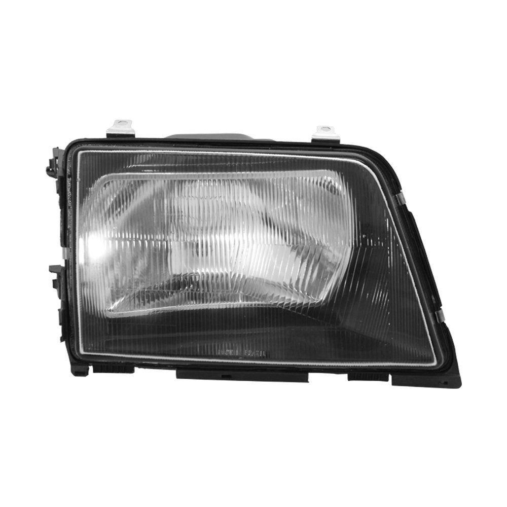 Farol Monza Máscara Negra de Vidro com Lâmpadas T10 13 LEDS – Modelo Original – 88 89 90 - Marca INOV9