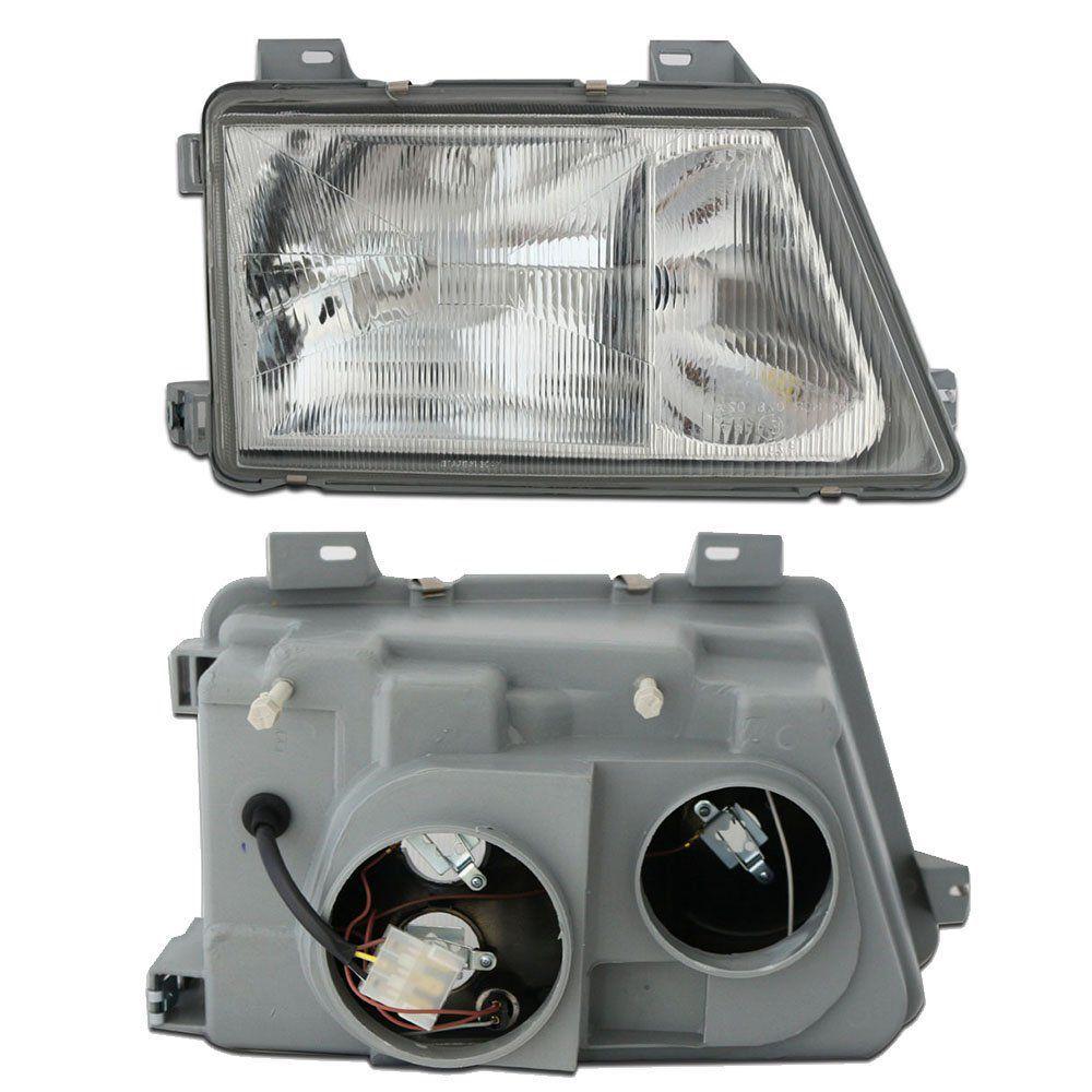 Farol Sprinter Cromado com Lâmpadas T10 13 LEDS – Modelo Original – 95 96 97 98 99 00 01 02 - Marca INOV9