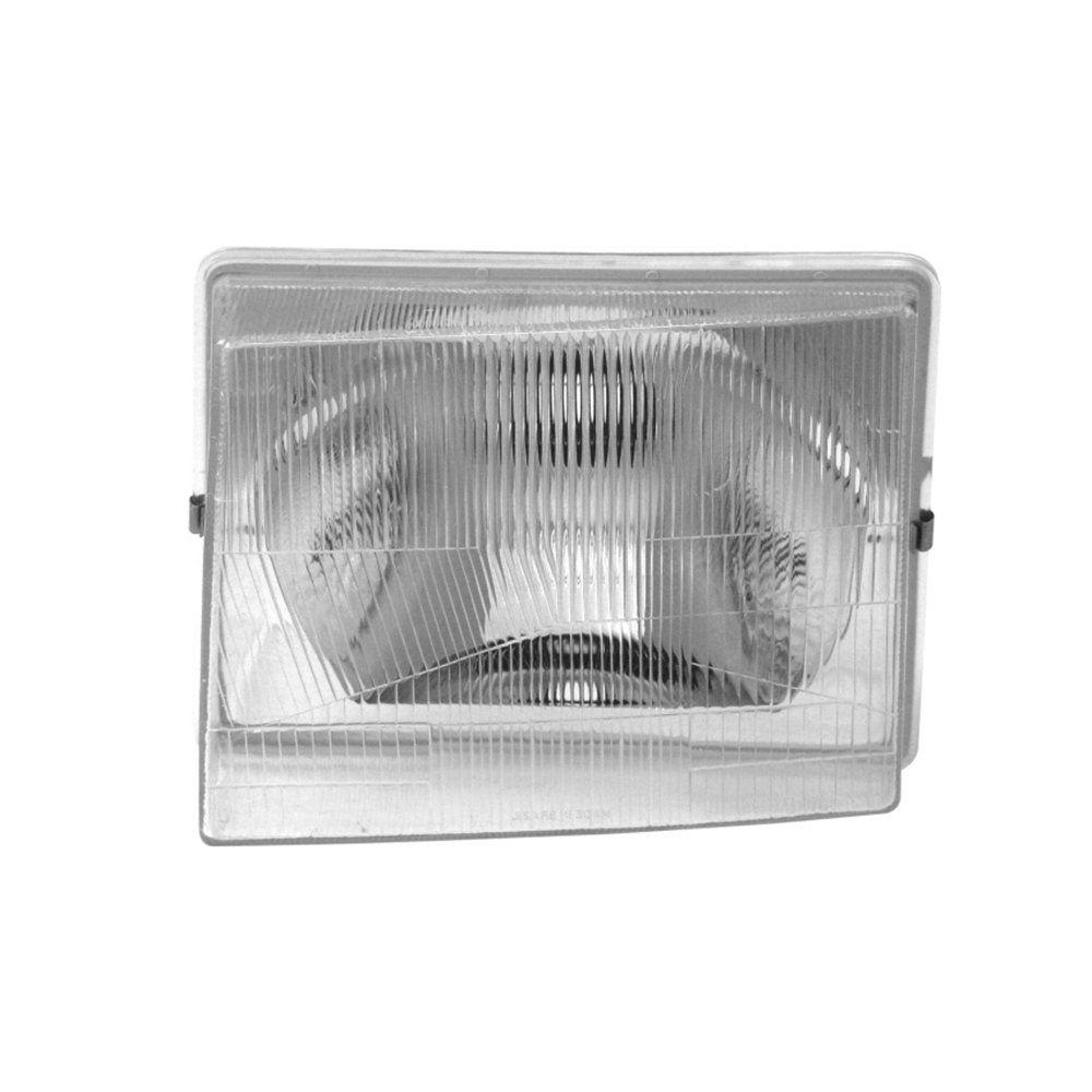 Farol Uno, Elba, Premio e Fiorino Máscara Cromada de Vidro com Lâmpadas T10 13 LEDS – Modelo Original – 84 85 86 87 88 89 90 - Marca INOV9
