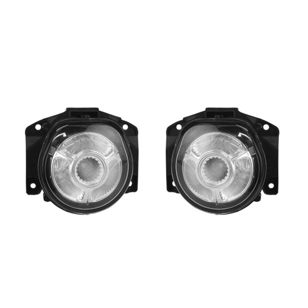 Kit Farol de Milha de LED Fiat Stilo Lente de Termoplástico 07 08 09 10 11 12 Marca Inovway
