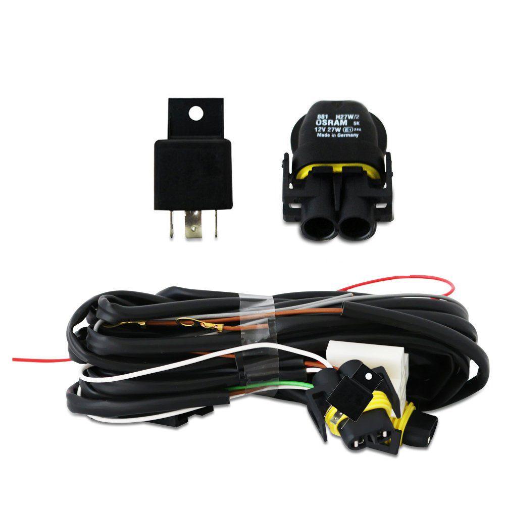 KIT AUX GOL G5 + LAMP HALOGENAS H27