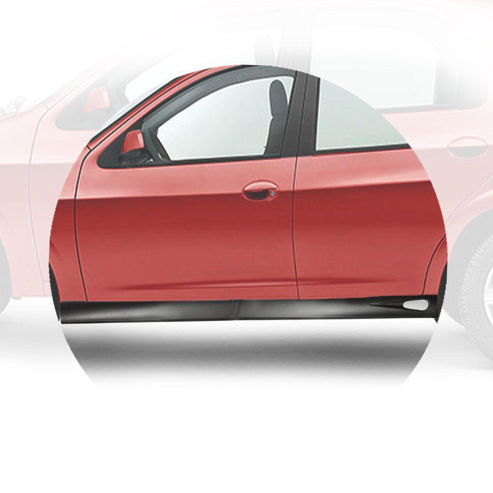 Kit Spoiler Lateral Celta 4p Prisma Audi A3 Citroen C3 #1256  - Artmilhas