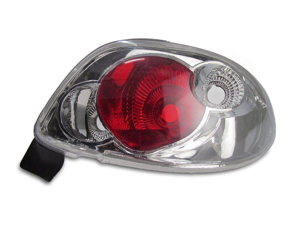 Lanterna Cristal – Peugeot 206 – Modelo Esportivo / Tuning – 96 97 98 99 00 01 02 03 04 05 06 07 08 – Marca Inovox  - Artmilhas