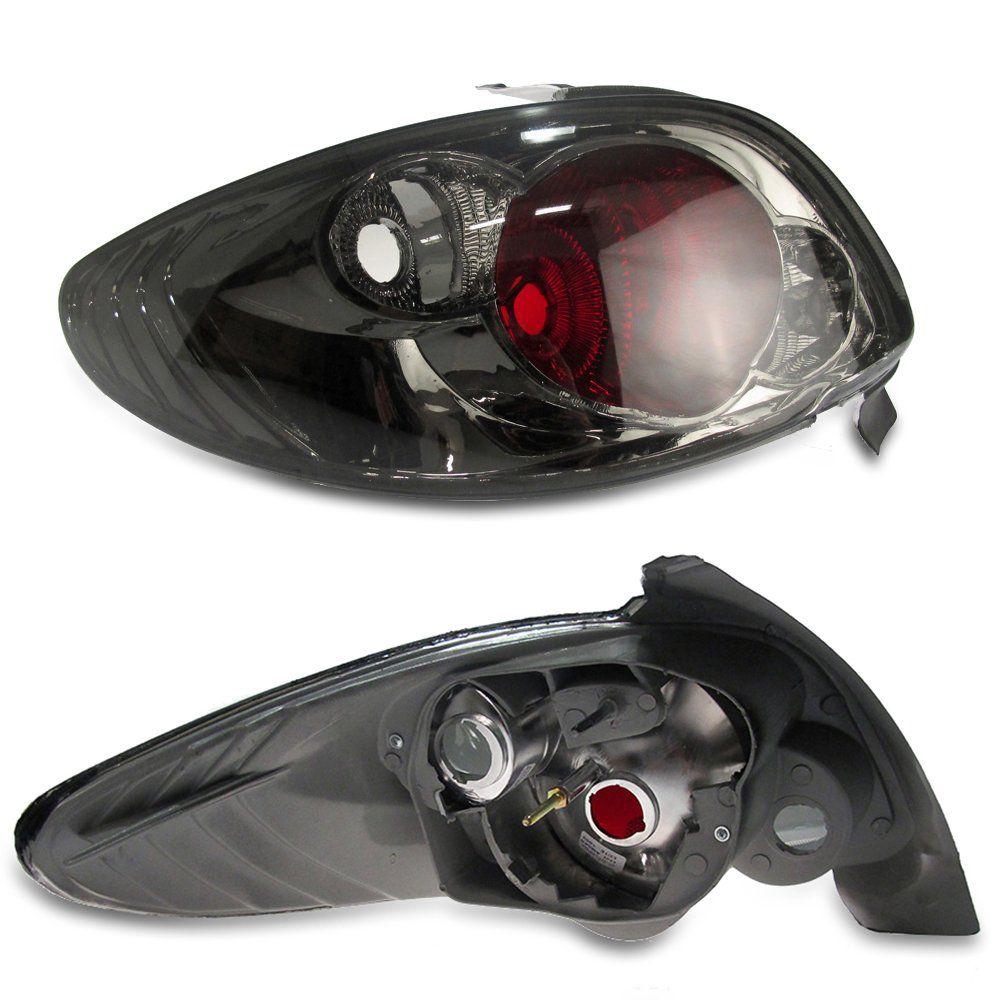Lanterna Traseira Peugeot 206 96 97 98 99 00 01 02 03 04 05 06 07 08 Fumê