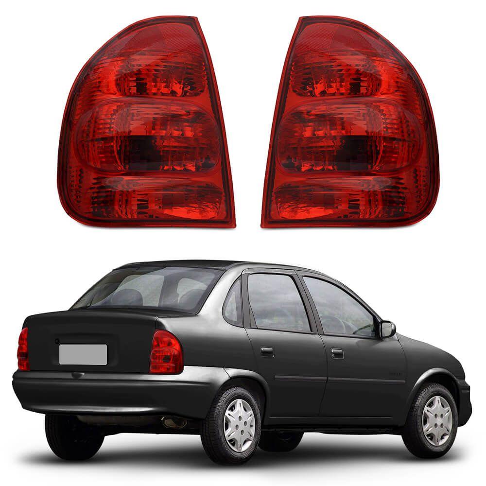 Lanterna Traseira Corsa Sedan Classic 00 01 02 03 04 05 06 07 08 09 10 Modelo RED
