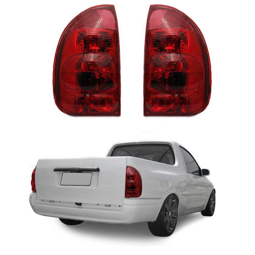 Lanterna Traseira Corsa Hatch Pick-up Wagon 96 97 98 99 00 01 02 03 Modelo RED
