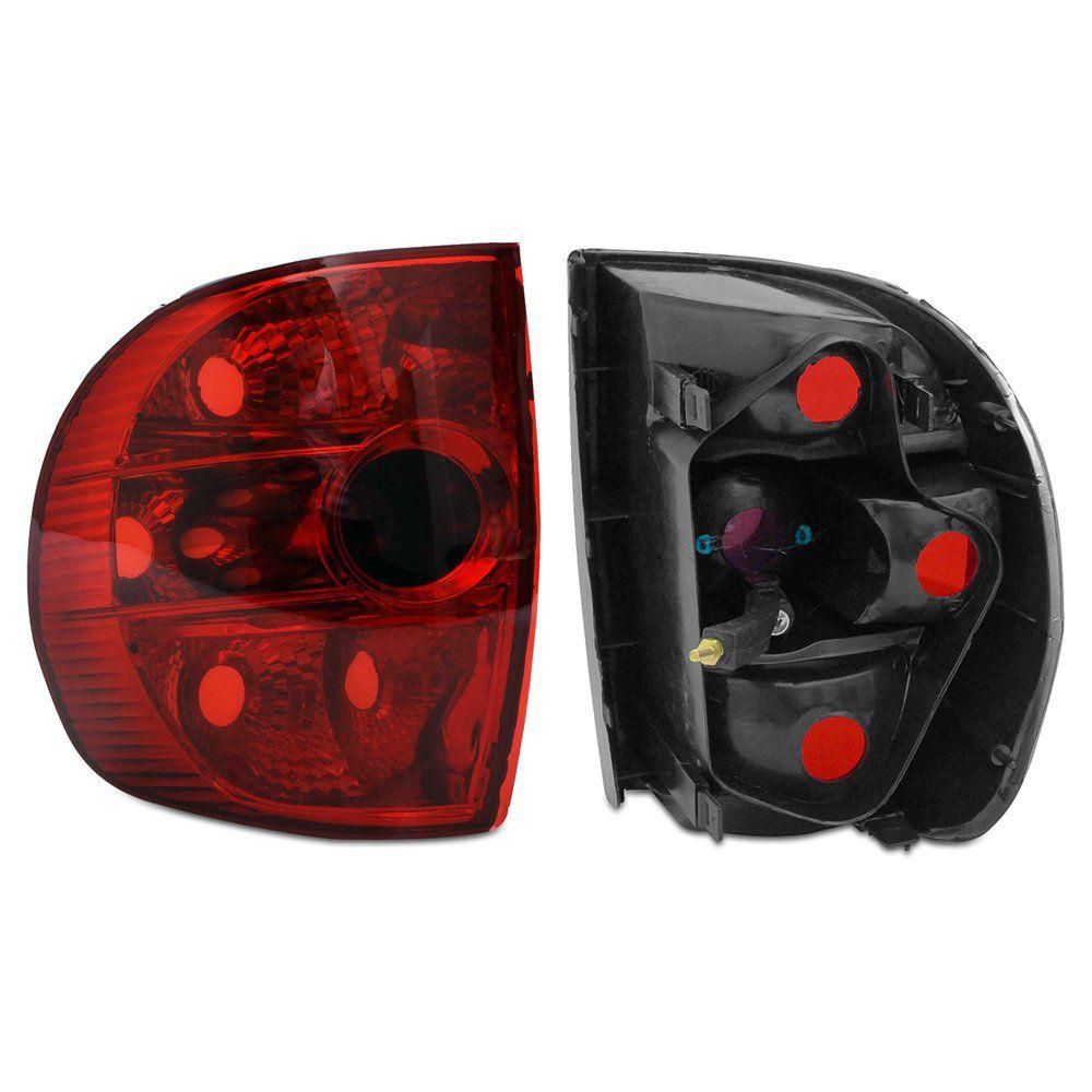 Lanterna Traseira Fox Crossfox 03 04 05 06 07 08 09 Modelo RED