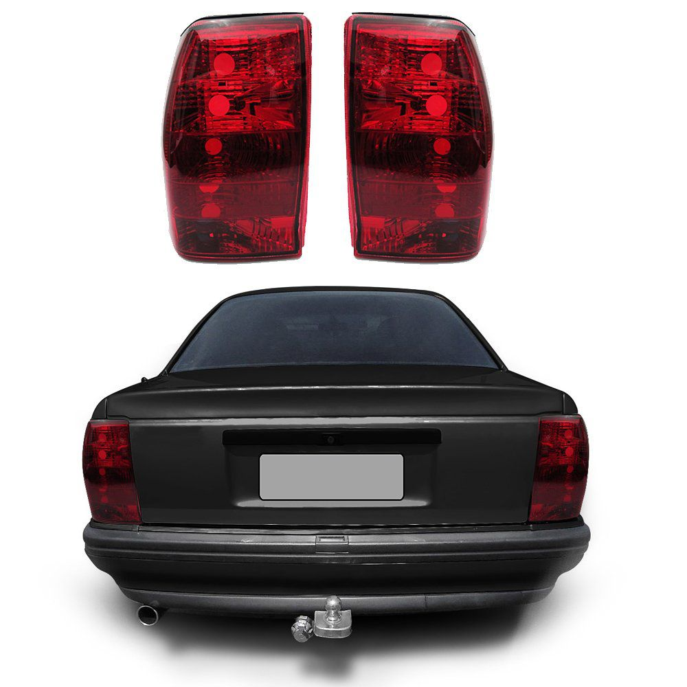 Lanterna Traseira Omega 92 93 94 95 96 97 98 Modelo RED