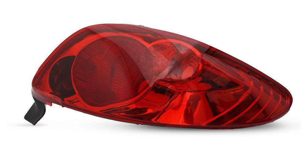 Lanterna Traseira Peugeot 206 96 97 98 99 00 01 02 03 04 05 06 07 08 Modelo RED